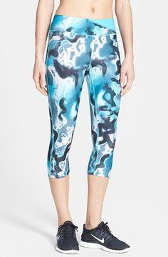 Nike 'Twisty' Print Crop Running Pants | Nordstrom