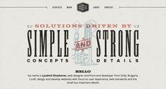 12 Diseños de paginas web con estilo retro