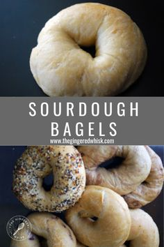 This easy sourdough bagel recipe is a great way to make homemade bagels at home! These bagels are chewey and flavorful and can be tailored to many flavors. Bagel Recipe Bread Machine, Sourdough Bread Machine, Sourdough Bagels, Bagel Bread, Best Bread Recipe, Sourdough Recipes, Bread Recipes, Best Breakfast Recipes, Sweet Breakfast