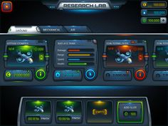 科幻UI界面
