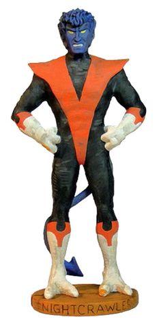 Estatua Nightcrawler 14 cm. Classic Marvel Characters. X-Men. Dark Horse Esta estatua de Nightcrawler miembro integrante de los populares X-Men hará las delicias de los fans de los personajes clásico de Marvel. 100% oficial y fabricado en material de PVC.