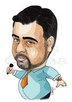 Joca Silva | Ricardo Campus - Caricaturas Cartoons e Ilustração
