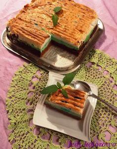 Przepis na sernik z mascarpone, czekoladowo-miętowy z rosą