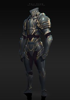ArtStation - knight-Royal, Poji Chow