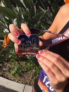Marathon Nails #shoes  Asics LA Marathon, 30th Edition