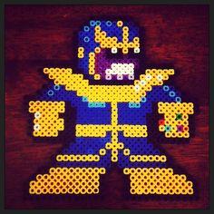 Thanos perler beads by meezymike