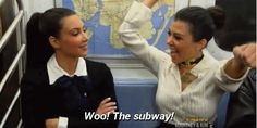 When taking public transport starts off as a novelty…   20 Truly Distressing Kardashian First-World Problems