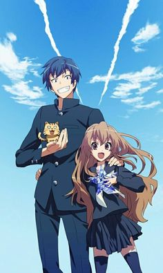 Toradora- This anime was incredibly heartwarming and real.