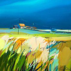Pam Carter   шотландский пейзаж