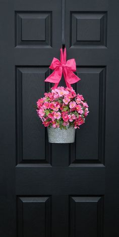 Valentine Wreath  - Spring  Wreath - Front Door Wreath -