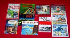 10 Train Books Mighty Santa Fe Lionel Donald Crews Casey Usborne