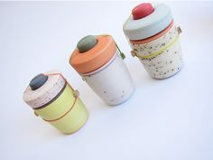 neat ceramic jars from abundance