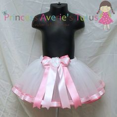 PERFECT RIBBON TRIM TUTU TUTORIAL PATTERN SEWN Tutu, not tied, no strips of tulle. Tutorial E-Book sold since 2011 SEWN Tutu-No Knots-Not Tied All Photos show the same tutu you can make with and without ribbon trim or well and without the layers seperated. ~~~~~~~Please Note;