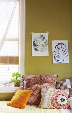 Nicole's DIY leaf Prints