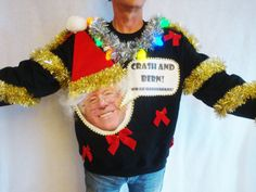 bernie sanders ugly christmas sweater contest by taborstreasures - Unique Christmas Sweaters
