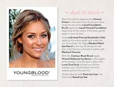 #summer #youngblood #makeup
