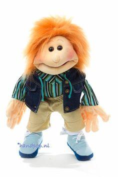 Philip, Living Puppets menspop 45 cm groot - Handpoppen.nl