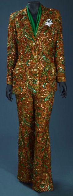 William Travilla - Costumes - Tailleur Pantalaon 'Chamoiré' - Susan Hayward (qui a repris le rôle après Judy Garland) - La Vallée des Poupées - 1967