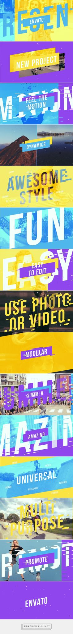 Colorful Promo on Behance... - a grouped images picture - Pin Them All