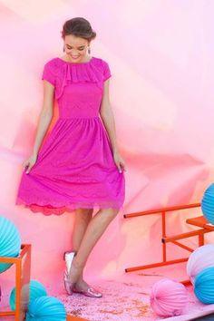 Gramercy Dress Pink