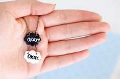 TFIOS Charm Pendant Necklace / The Fault In Our Stars / by Ilianne