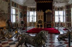 Opulence and fantasy collide in this royal chair which is supposedly made with…