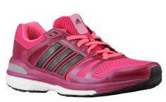hot sale online ad946 e82d2 Nero Rosa, Donne Che Corrono, Adidas Donna, Gioco Di Scarpe, Scarpe Da