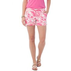 Check out Island Floral Piper Short from Southern Tide