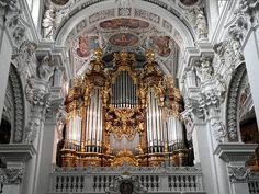 St. Stephen's Cathedral Organ - Passau Germany.