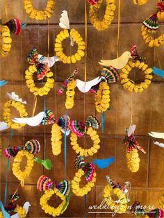Ganpati decoration ideas ganpati decoration themes ganpati décor ganesh chaturti décor ganesh chaturthi décor diy flowers indian festivals ganesha ganpati bappa gauri home décor idol marigold paper art Diwali Decorations, Stage Decorations, Festival Decorations, Flower Decorations, Desi Wedding Decor, Craft Wedding, Indian Wedding Decorations, Wedding Ideas, Garland Wedding