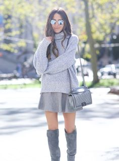 I was so excited that the weather finally allowed me to wear some of my chunky knit turtleneck sweaters. I've bought a few for this season that I've been saving up to share with you guys. This one specifically is a new favorite, I bought it at my favorite Hamptons store (TENET) and I think … Continued