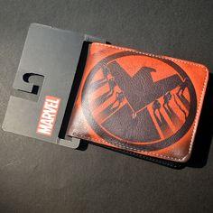 Portafoglio Marvel Comics Heroes Iron Man Captain America Shield Uomo Ragno Formica Uomo Punisher Venom Brevi Portafogli Con Il Supporto di Carta
