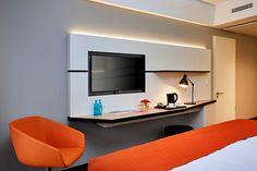 Hotelzimmer des RAMADA Hotel Hamburg City Center im Zentrum von Hamburg