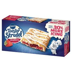 New Savingstar ECoupon - Pillsbury® Strudel® Breakfast Toast, Sweet Breakfast, Frozen Breakfast, Breakfast Ideas, Toaster Strudel, Homemade Crescent Rolls, Frozen Appetizers, Strudel Recipes, Love Rain