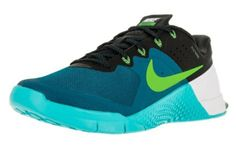 best service b0366 6214c Nike Mens Metcon 2 Synthetic Green Abyss/Electric Green/Gamma Bl/Bl  Trainers - 10 D(M) US: Proper form begins with a firm, stable foundation.