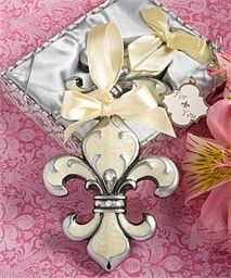 Fleur de Lis Ornament Favor - French Theme Party