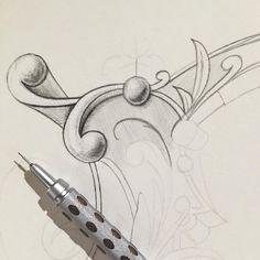 Brandon Mikel Paul 22. Columbia, SC ✒️ Handlettering   Illustration ☕️  Available for Hire Instagram.com/BrandonMikelPaul #Antique #Epemera #Flourish #Illustration