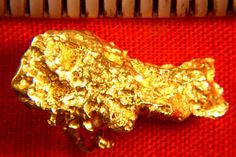 Richly Textured Australian Gold Nugget - Great Color