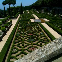 Papal garden Castelgandolfo