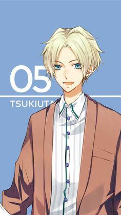 TsukiUta Smartphone wallpaper: Aoi Satsuki