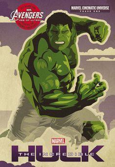 #Hulk #Fan #Art. (Bruce Bannerwas once just a shy scientist. But after a devastating lab accident, he became The Incredible Hulk. Join the action as this Super Hero fights againstAbominationin his complete origin story as told inThe Incredible Hulk. Re-live all of TheAvengers' individual stories before they reassemble in Marvel'sAvengers: Age of Ultron) By: Marvel.