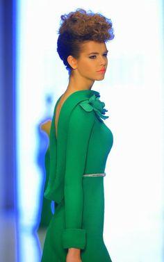 eeec08795 Fouad Sarkis 2014 Collection - BellaNaija - May2014034 Roupas Femininas,  Primavera Verão, Vestido De