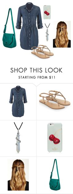 """""""walking in the city"""" by vic-valdez on Polyvore featuring beleza, maurices, Accessorize, Bling Jewelry, Kate Spade, Natasha Accessories e Roxy"""