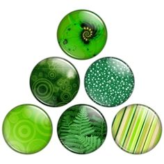 Superschöne Idee - Buttons in Farbnuancen!