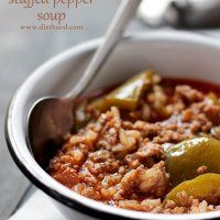 Stuffed Pepper Soup Recipe | Diethood