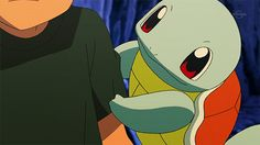 I want a Squirtle to do that! I wanna A Pokemon, no matter which one Pokemon Gif, Gen 1 Pokemon, Pokemon Photo, Cute Pokemon, Female Pikachu, Squirtle Squad, Anime Watch, Anime Animals, Funny Anime Pics