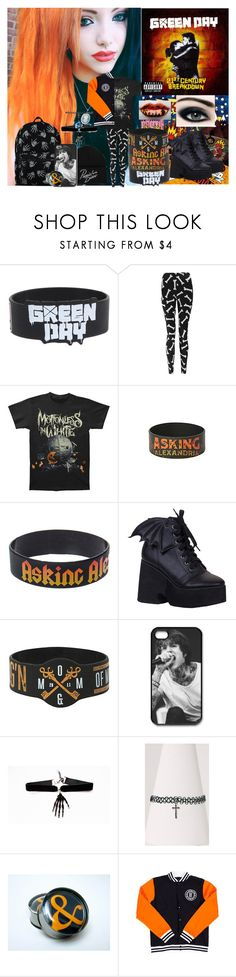 """Devils Night~Motionless In White"" by headbangingunicorn ❤ liked on Polyvore featuring Boohoo"