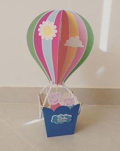 Peppa Pig globo aerostático