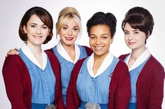 Call the Midwife women
