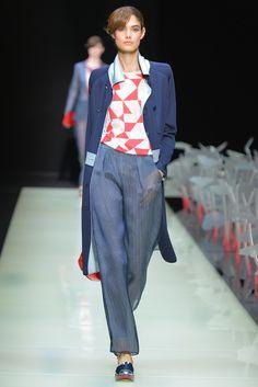 Giorgio Armani RTW Spring 2016 - stylish & wearable!